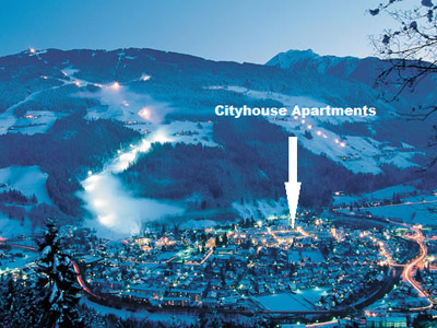 CityHouse Apartments direkt in Schladming, Planai